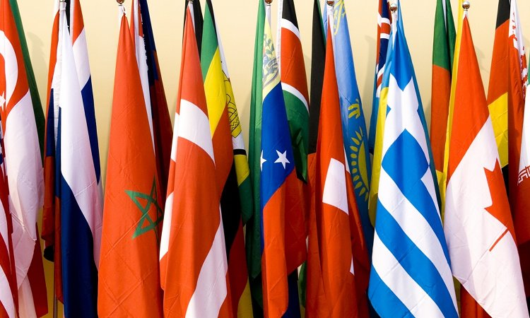 International World Bunting Flags All Country Flag With String