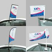 Commercial Advertising Custom Car Window Feather Flags for Sale