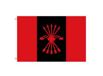 Spanish Falange of the Assemblies Custom National Indoor or Outdoor Flag